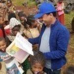Etiopia barna får skolebøker fra kaffeinntekter