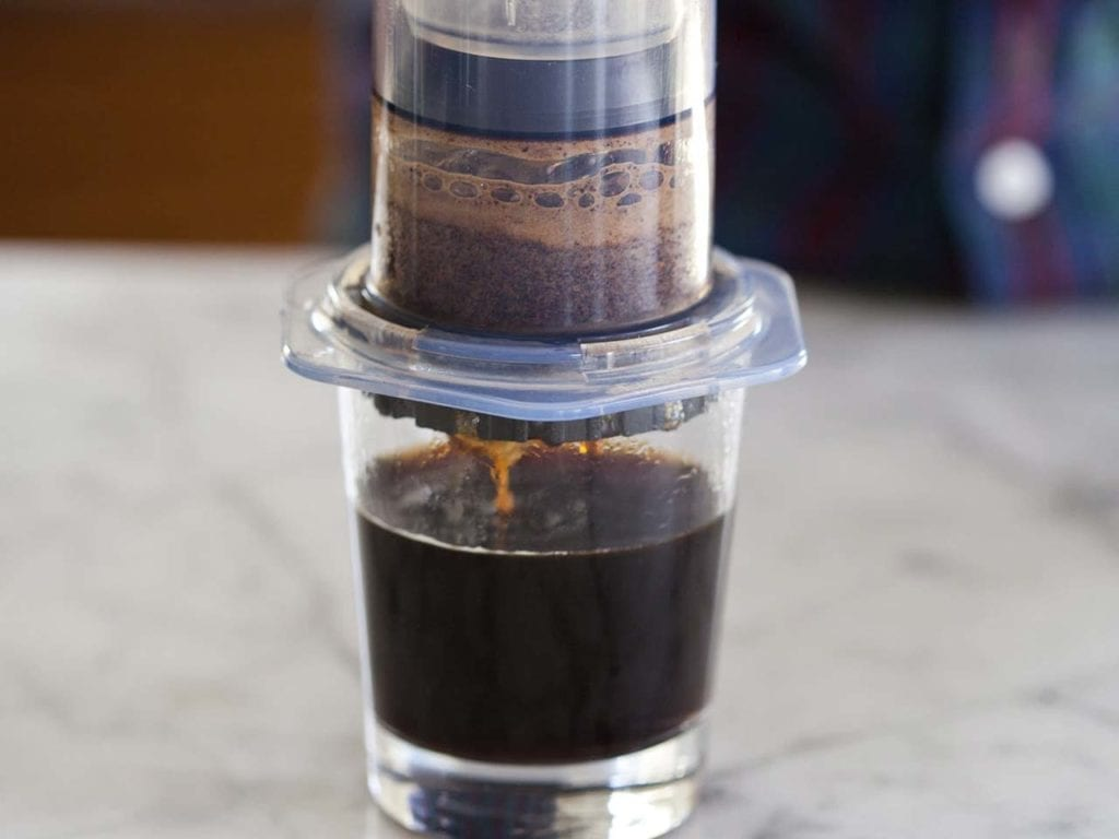 Guide for Aeropress kaffe