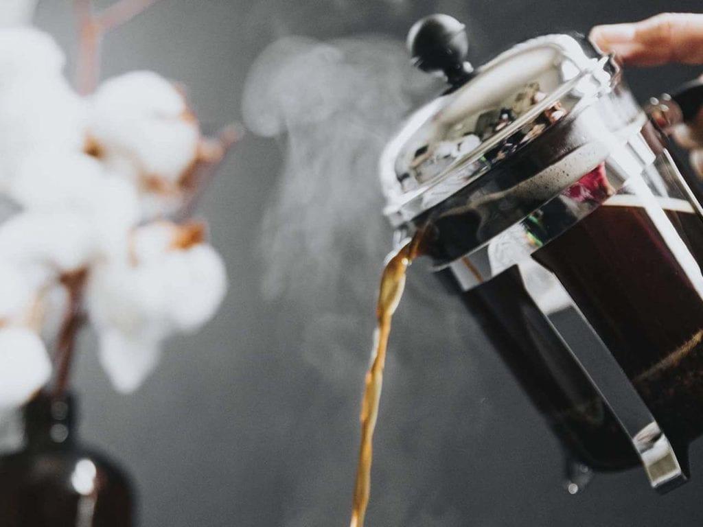 Presskanne kaffe