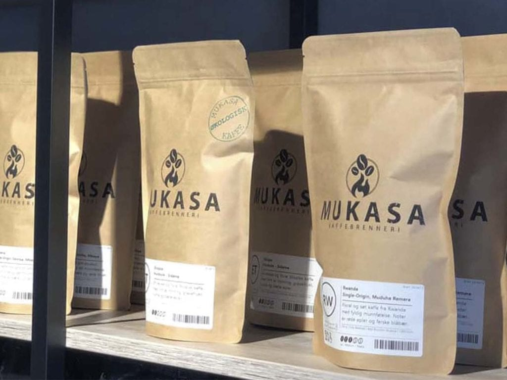 Utsalgssteder av mukasa kaffe