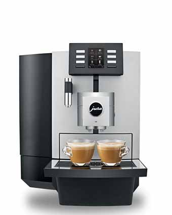 Kaffemaskin til bedrift Jura X8