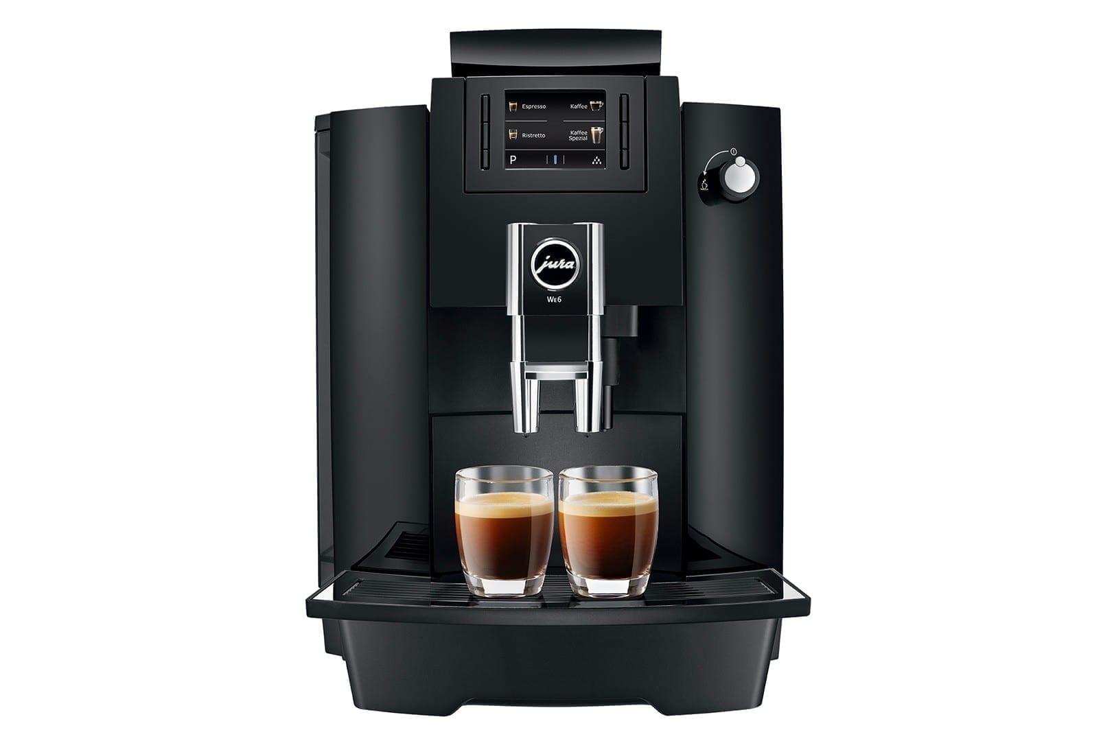 Jura WE6 kaffemaskin til kontor